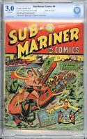 Sub-Mariner Comics #4 - Alex Schomburg Cover - CBCS 3.0!