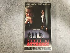Power of Attorney (1995) / Better Off Dead (1993) -Dual Vhs Promo / Screener-New