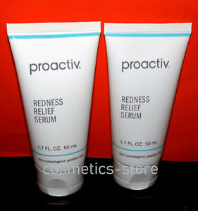 2pc Set  LOT Proactiv Redness Relief Serum 1.7 fl oz / 50mL EACH