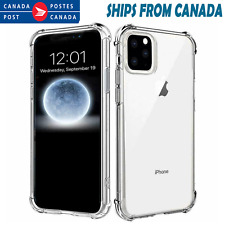 Apple iPhone 11 Pro XS Max X XR 7 8 Plus Clear Case Shockproof Heavy Duty Cover