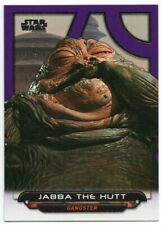 2017 Star Wars Galactic Files Reborn Purple ROTJ-1 Jabba The Hutt 37/99