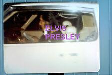 ELVIS PRESLEY IN CAR GRACELAND 1973 OLD KODAK VINTAGE ORIGINAL PHOTO CANDID A