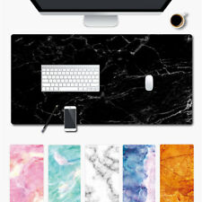 Table Large Marble Grain Laptop Cushion Mouse Pad Computer Desk Mat Keyboard