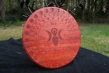 "Goddess w/ Lunar Cycle Pendulum Board - Padauk - 9"""