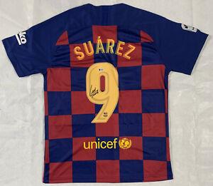 Luis Suarez Signed Jersey Soccer Autographed Beckett BAS COA