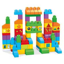 Mega Bloks Fvj49 Let's Get Learning Building Block Play Set with Bag, 150 Piece