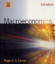 Macroeconomics with Macro Tools CD-ROM by Farmer, Roger, Good Book
