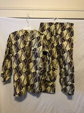 African Ethnic Clothing Men's 2 Piece Pant suit Multi color long sleeve Handmade