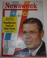 Newsweek Magazine Defense Secretary McNamara March 12, 1962 100316R2