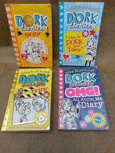 """Dork diaries - 4 Book Bundle..""""Paperbacks"""""""