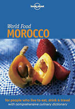 Lonely Planet World Food Morocco-ExLibrary
