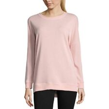Xersion 1X Light Pink Pullover Sweater NWT Plus Size Fall