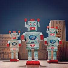 Clockwork Soldier Build a Mega-Bot Crafts for Kids - Cardboard Folding Models