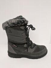 Kamik Polarfox Snow Boot, Charcoal, Womens 7 M