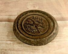 Old Vintage Princly State Rajkot 1/2 Seers Iron Mercantile Measuring Weight