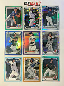 2020 Bowman Chrome Prospect YOU PICK #BCP-01 - BCP-250 Base & Parallels Gold etc