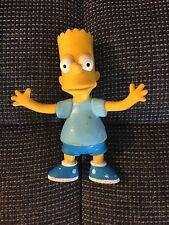 "BART Simpson 1990 Jesco Bendable Action Figure Toy The Simpsons Fox 4 1/2"""