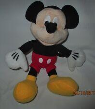 "Mickey Mouse Plush, Disney, 10"" tall"