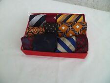 LOT Cravates et Nœud Papillons 100% soie grandes  marques vintage