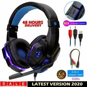 Gaming Headphones Gamer Auriculares Audifonos Gaming Para PC Xbox One 360 PS4