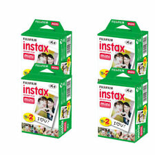 40 Fujifilm Fuji Instax Mini Film White Sheet for 7s 8 10 25 50s 50i SP1