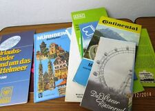 12 Städtpläne + Prospekte + Landkarten + Flyer №7: Nürnberg Europa usw.  /S39