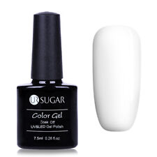 7.5ml Pure White UV Gel Polish Base Soak Off Manicure Varnish Nail Art LED Gel