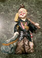 Vintage hobo clown