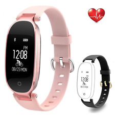 Flenco Fitness Tracker Heart Rate Monitor Activity Tracker Waterproof Smart Step