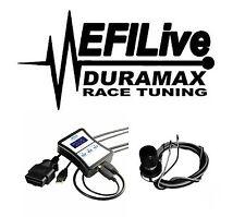 Chevy GMC Duramax LMM 6.6L 2007.5-2010 EGR DPF Delete Kit EFI Live Tuner DSP5