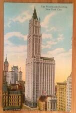 The Woolworth Building, New York City, Manhattan Post Card Co. A-50860