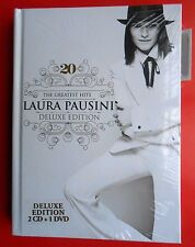 cds laura pausini the greatest hits deluxe edition je chante te amaré 2 cd + dvd