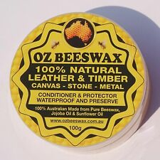 Beeswax Leather & Timber Conditioner 100g