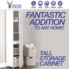 Storage Cabinet Organiser Single Door Tall Shelf Cupboard Display SALE RRP $249