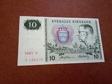 SWEDEN - 10 KRONOR 1984 -  BANKNOTES