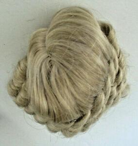Vintage Dollspart Supply Dynel Doll Wig Blonde Ringlets Size 8 Original Box 1960
