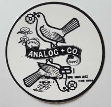 *** Analog - Snowboard Sticker - Taube - 8cm***