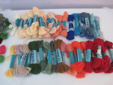 Anchor yarn lot - Tapestry yarn - multiple colors - 40 skein lot plus partials