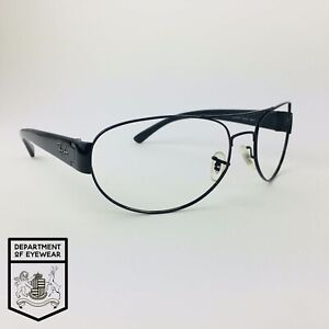 RAY-BAN eyeglasses BLACK OVAL AVIATOR glasses frame MOD: RB 3448 002/58