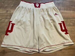 ADIDAS Indiana University HOOSIERS Basketball Uniform Jersey Shorts mens Large