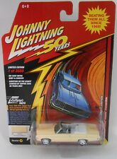 Johnny Lightning 1969 Chevy Impala Convertible Yellow 50th Anniversary Edition