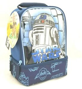 Disney Star Wars R2D2 Insulated Lunch Tote Box Kit by American Tourister : New