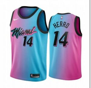 New men's Miami Heat Tyler Herro #14 city edition jersey Medium