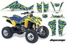 ATV Decal Graphic Kit Wrap For Suzuki LTZ400 Kawasaki KFX400 2003-2008 DIGI Y U