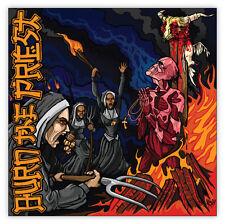 """Lamb of God Burn the Priest sticker decal 4"""" x 4"""""""