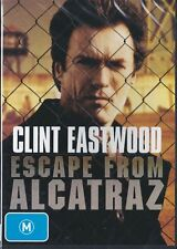 ESCAPE FROM ALCATRAZ - CLINT EASTWOOD -  NEW & SEALED REGION 4 DVD