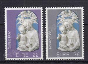 IRELAND MNH STAMP SET 1982 CHRISTMAS SG 530-531