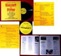 LP Konzert für Pitter - Göppingen 1976 - (Folk-Platte EV 77 001)