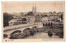 CPA 79 - NIORT (Deux-Sèvres) - 29. Vue vers les ponts et l'Eglise St-André