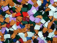 LEGO BULK LOT OF 100 MINIFIGURE SKIRTS DRESS SANTA LEGS CITY TOWN